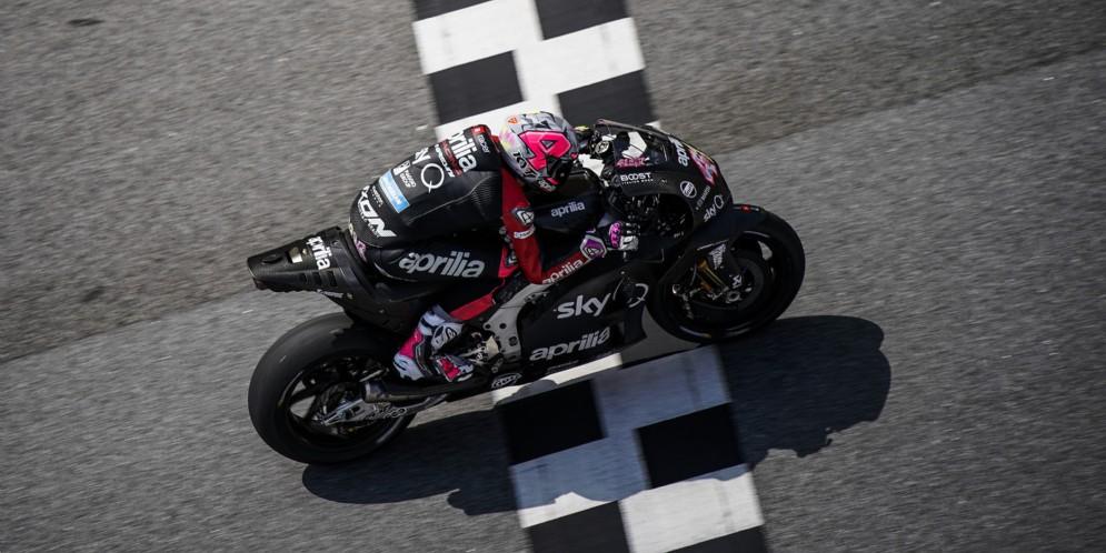 Si conclude positivamente la prima sessione di test MotoGP 2019 per Aprilia
