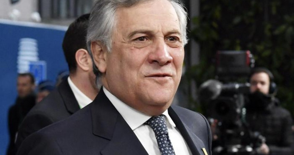 Il Presidente della Commissione europea, Antonio Tajani