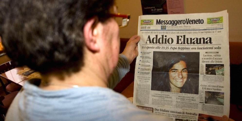 Dieci anni fa la morte di Eluana: le parole di papà Beppino