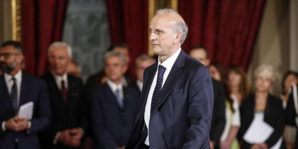 Il Ministro dell'Istruzione, Marco Bussetti