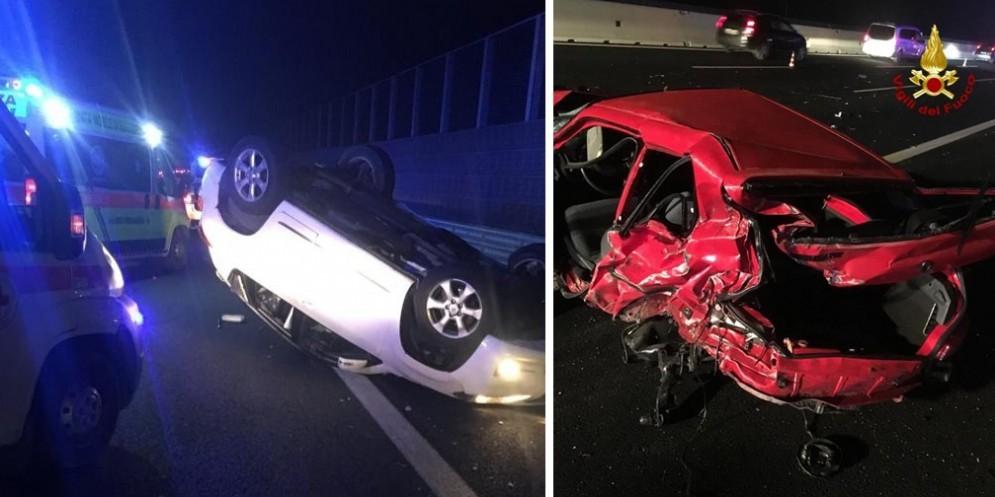 Gravissimo incidente in A4: un morto e tre feriti