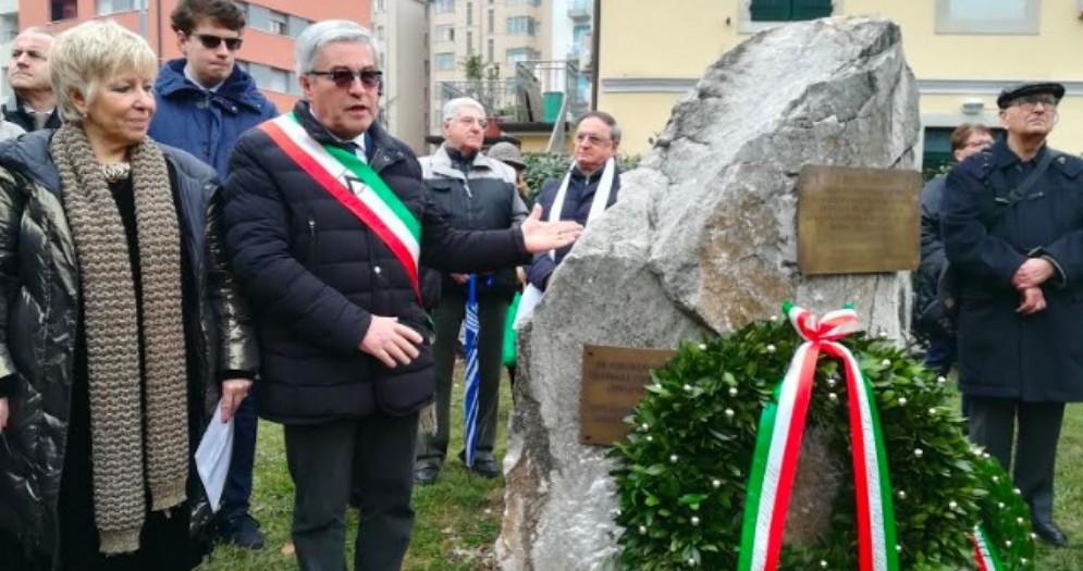 Udine, cerimonia al nuovo parco 'Martiri delle Foibe'