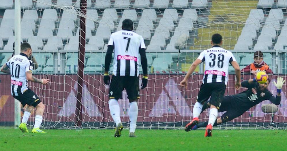 Ancora una sconfitta per l'Udinese: il baratro è a un passo
