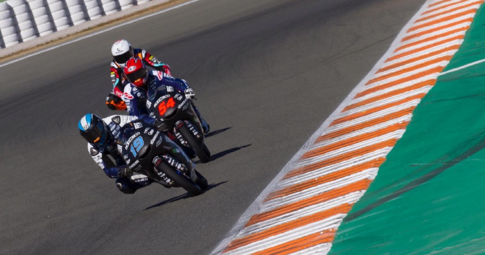 A Valencia chiuso il primo test 2019 per il Team Kömmerling Gresini Moto3