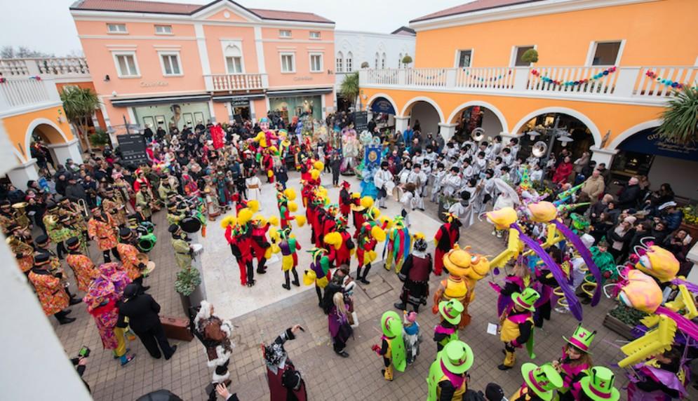 All'Outlet Village c'è il 'Carnevale al Village'