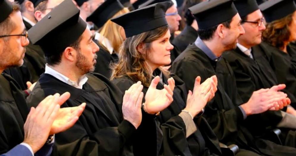 Cerimonia del Tocco: l'UniUd festeggia nuovi docenti, ricercatori e personale tecnico