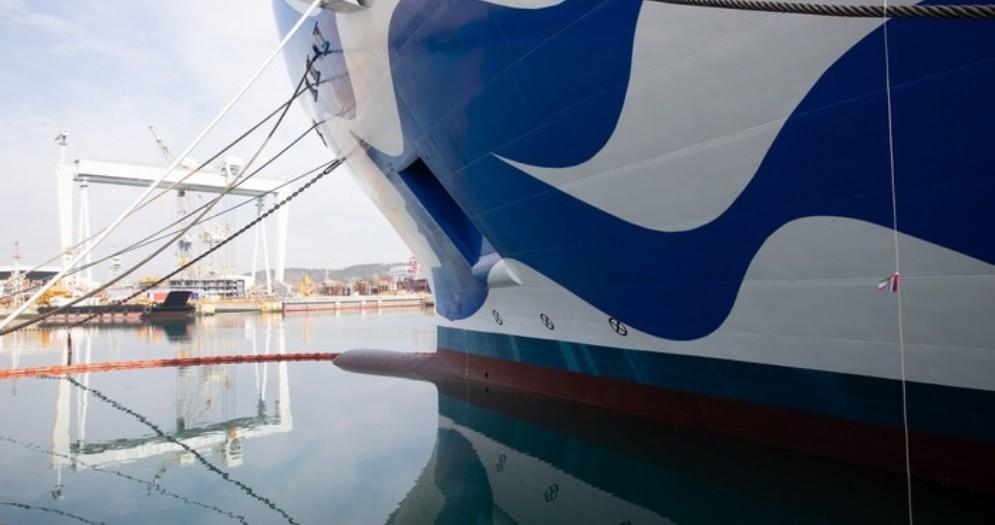 Monfalcone-Castellammare, gemellaggio per le navi da crociera «Princess Cruises»