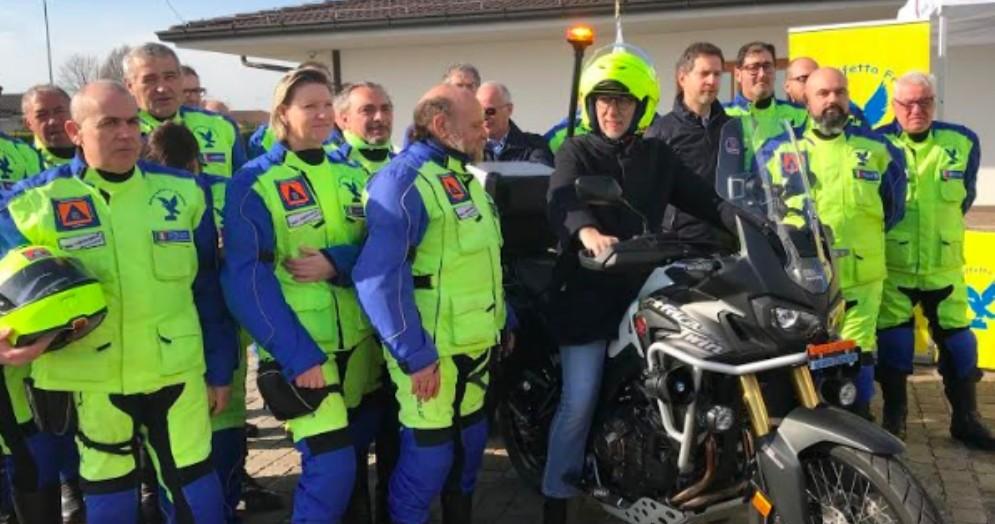 Protezione Civile: un nuovo motoveicolo per raggiungere le zone più impervie