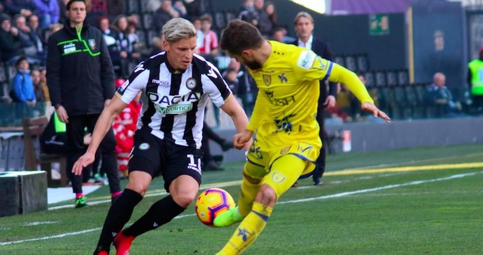Il Var salva l'Udinese: Chievo battuto grazie a un rigore