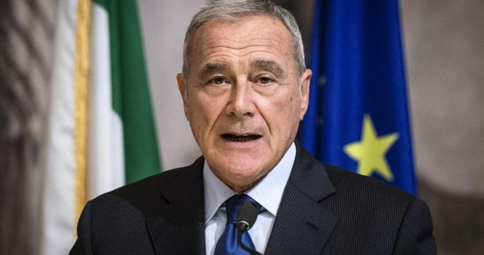 L'ex Presidente del Senato, Pietro Grasso