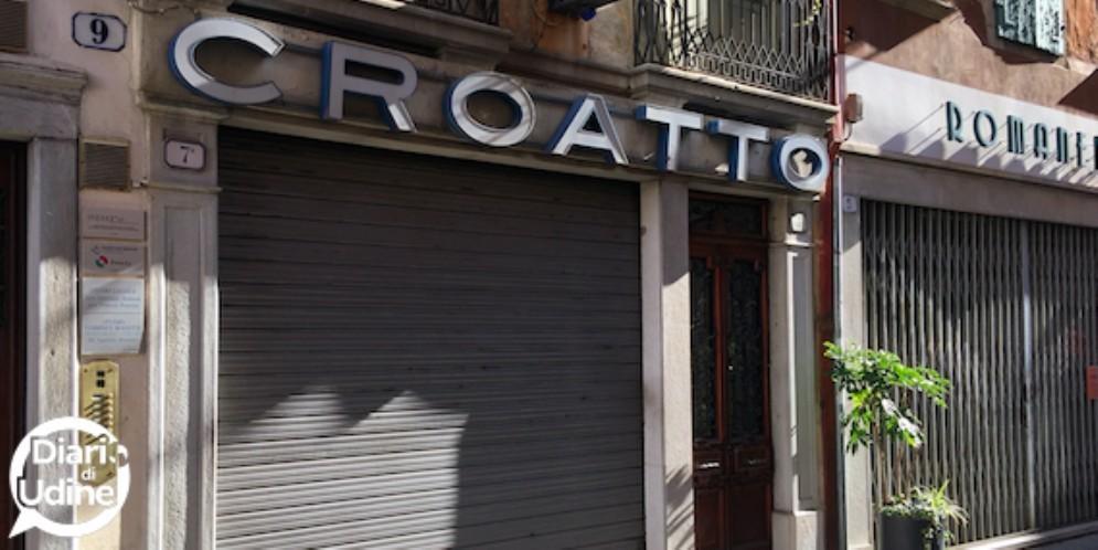 A luglio chiude Croatto: sparisce un altro pezzo di storia cittadina