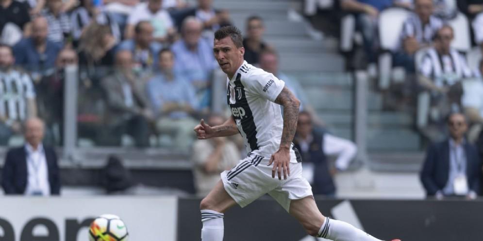 Mario Mandzukic, attaccante della Juventus e della nazionale croata