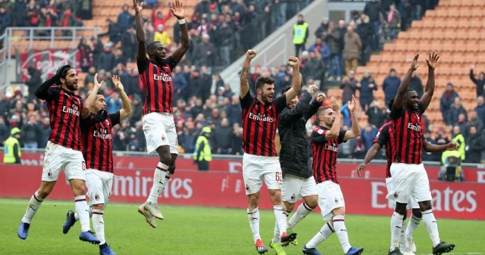 Il Milan 2018-2019 va a caccia del ritorno in Coppa Campioni dopo 5 stagioni