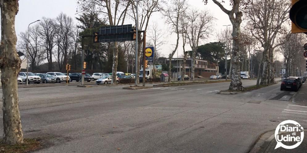 Udine, via libera alla prima rotonda di viale Venezia