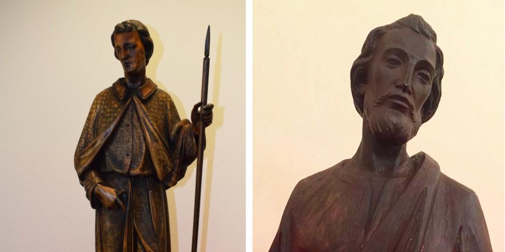 Statua trafugata nel 1997 tornerà nella chiesa di Forgaria
