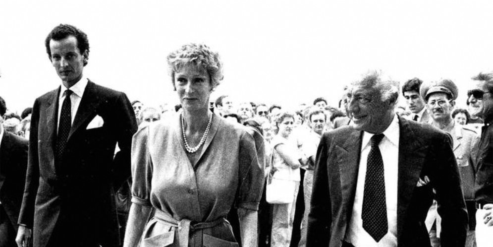 Edoardo, Marella e Gianni Agnelli