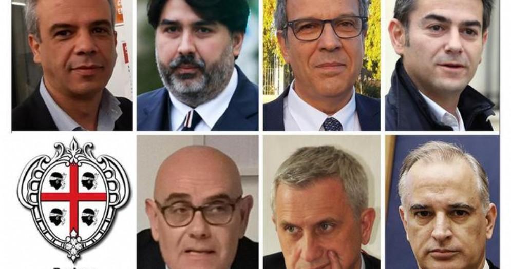 I candidati alle elezioni regionali in Sardegna