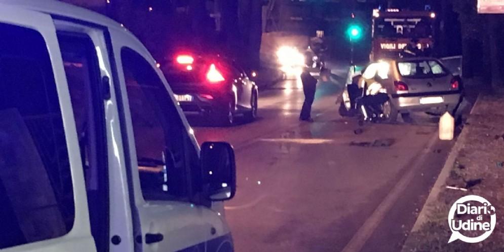 Doppio incidente tra Udine e Campoformido: 8 feriti, 3 dei quali sono bambini