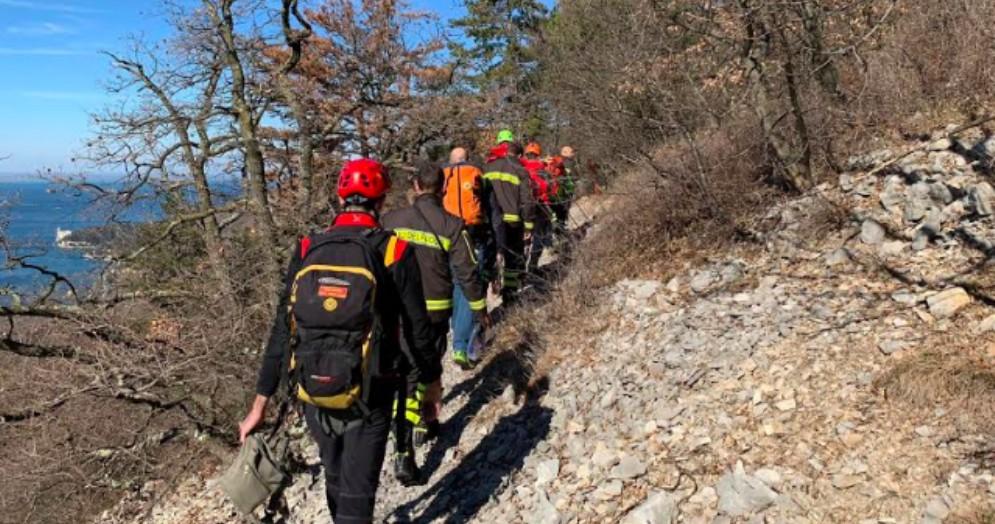 Doppio intervento del Soccorso Alpino tra Opicina e San Dorligo