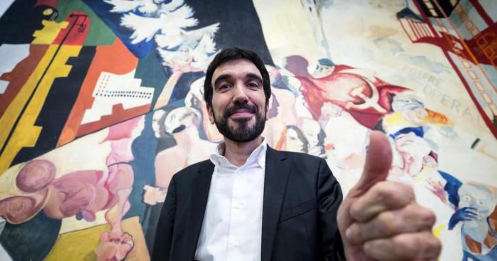 Il candidato alla Segreteria del PD, Maurizio Martina