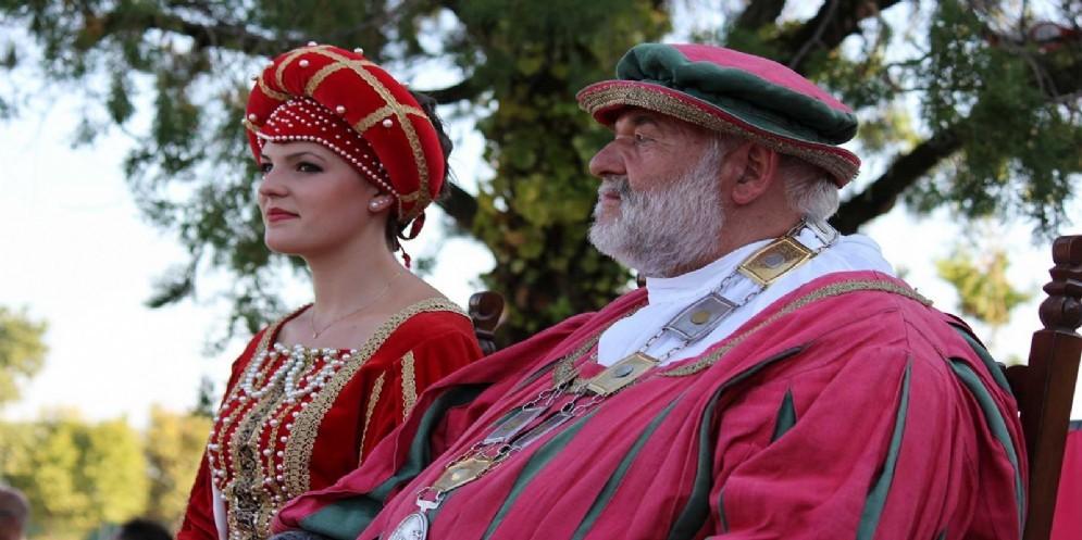 Rievocazione storica dell'incontro tra Giulietta e Romeo «in salsa» friulana