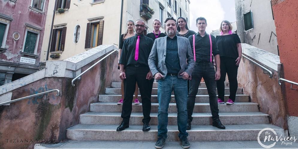 Rudy Fantin, il «chirurgo» della musica al Carnevale di Venezia con The NuVoices Project!