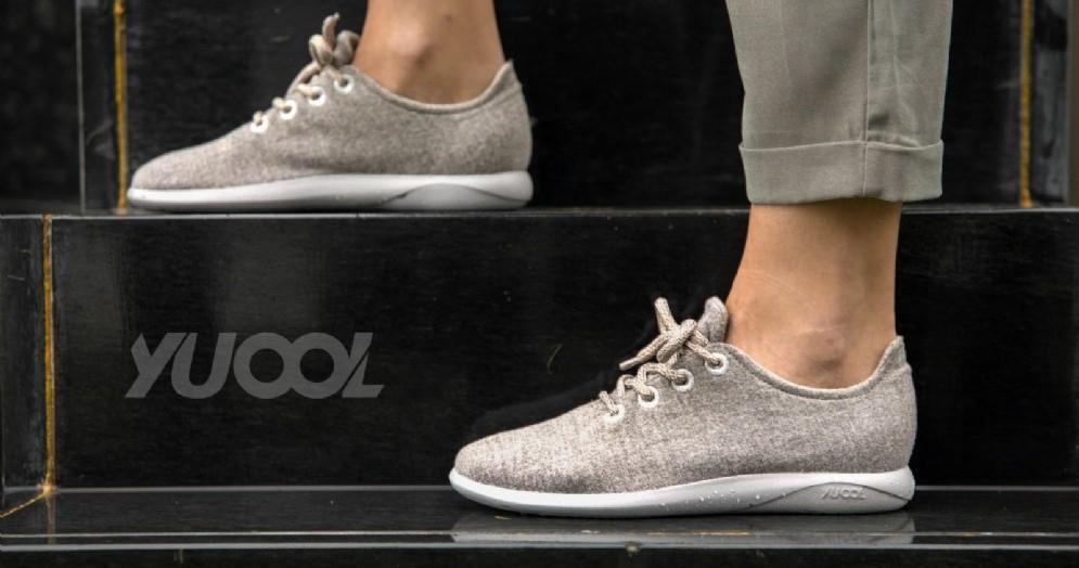 Yuool, la scarpa in lana merino
