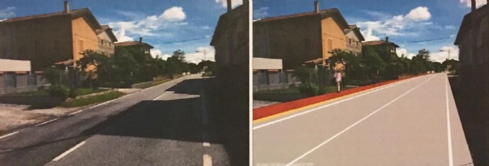 Sarà realizzata la pista ciclo-pedonale in via Laipacco