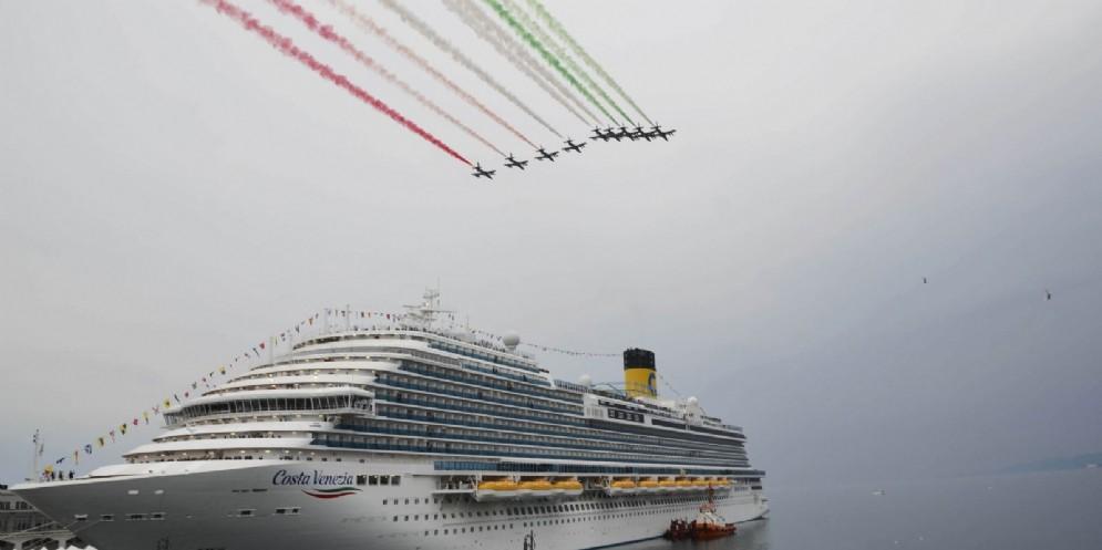Costa Venezia Fedriga: «Regione orgogliosa di nave 'made in Fvg'»