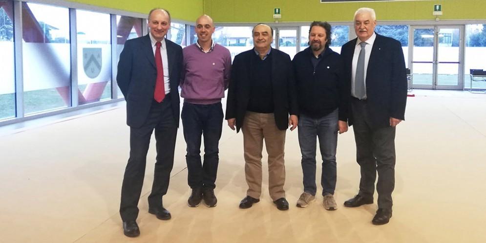Il presidente di Fgi in visita all'Asu: «Qui a Udine ho visto una realtà eccezionale»