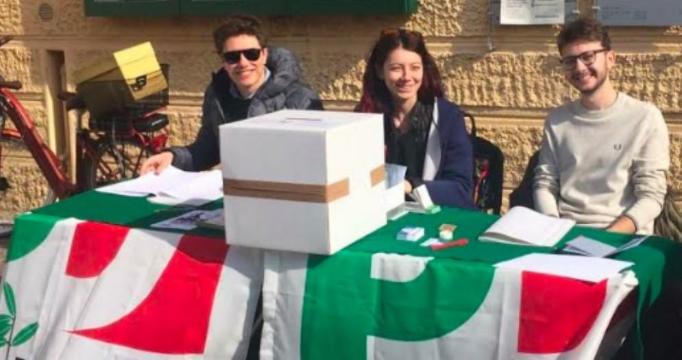 Il gazebo a piazzale Chiavris a Udine