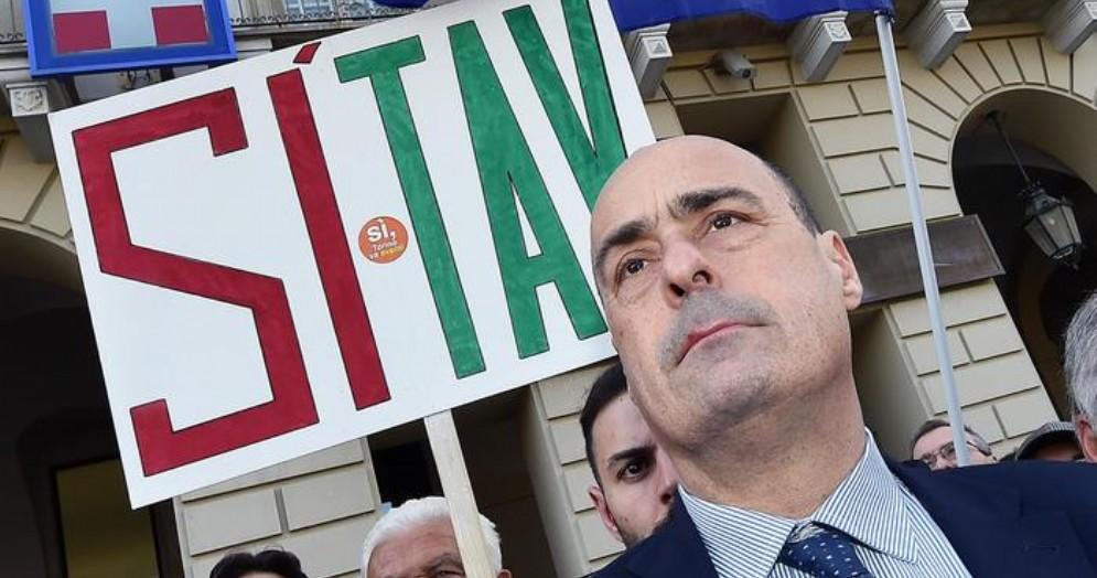 Il neo Segretario del PD, Nicola Zingaretti