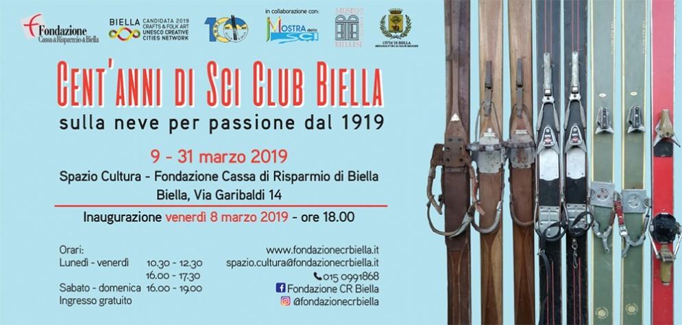 Cent'anni di Sci Club Biella: la mostra celebrativa