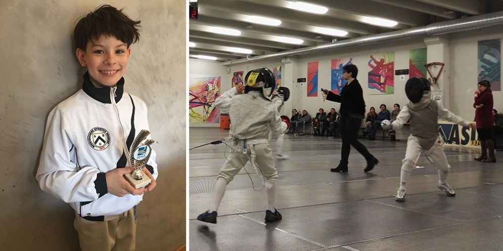 Scherma (Asu): Marco a 9 anni ha vinto tutto nelle ultime quattro gare
