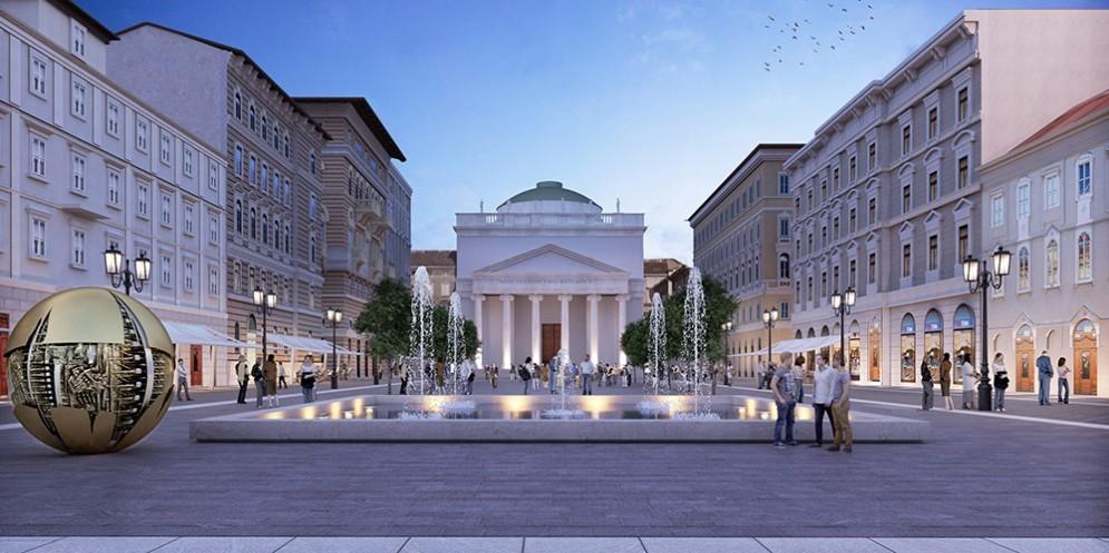 Trieste, quattro alternative per la riqualificazione di piazza Sant'Antonio Nuovo