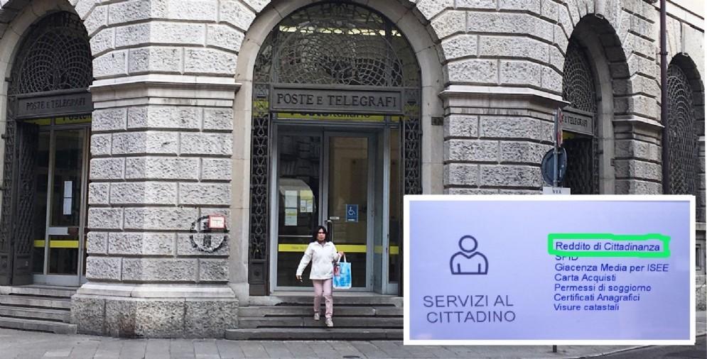 Reddito di cittadinanza: partenza soft nelle Poste di Udine