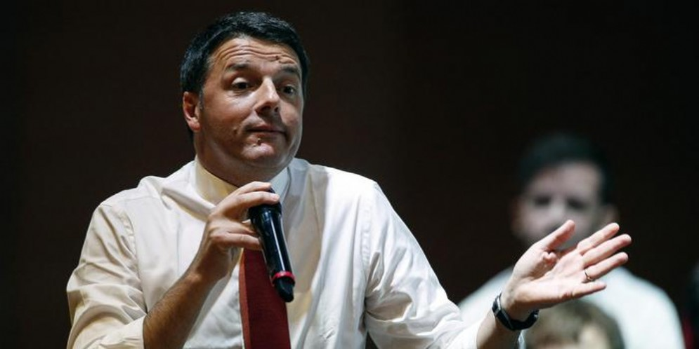Il Senatore del PD, Matteo Renzi