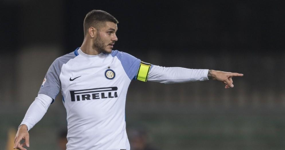 Mauro Icardi, centravanti argentino dell'Inter