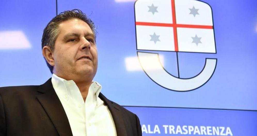 Il Presidente della Regione Liguria, Giovanni Toti