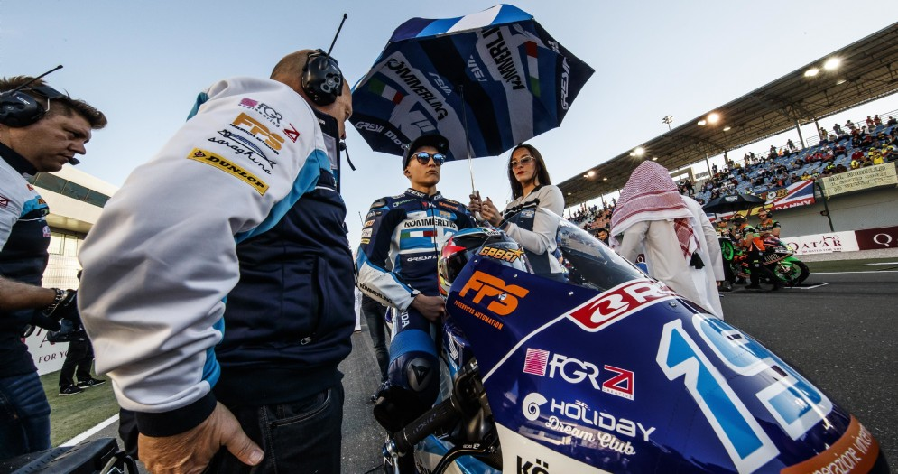 Un punto per Rodrigo a Losail, Rossi completa la sua prima gara mondiale