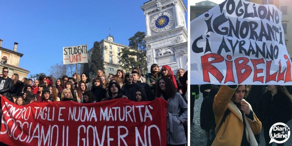 Studenti di nuovo in piazza: questa volta per il clima