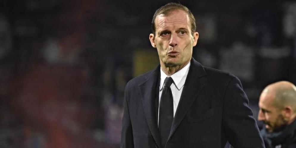 Massimiliano Allegri, allenatore della Juventus, potrebbe lasciare i bianconeri a giugno