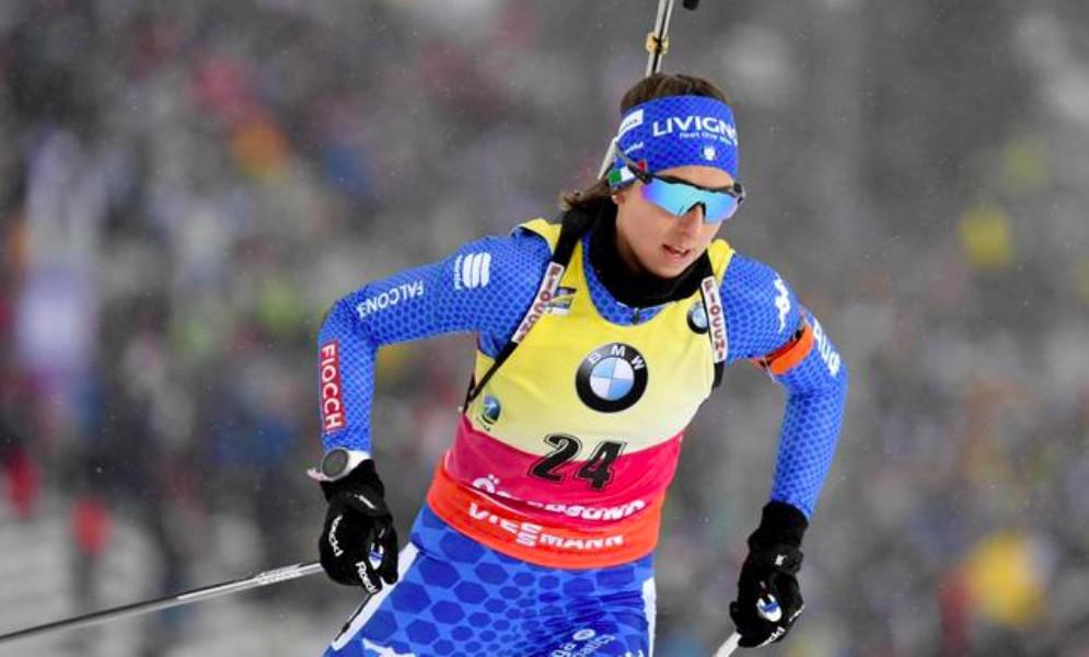 Lisa Vittozzi è medaglia d'argento nella 15 km mondiale
