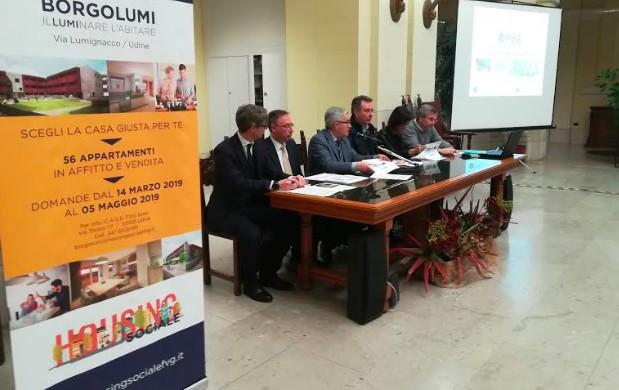 Ecco 'Borgolume': 56 alloggi in housing sociale in via Lumignacco