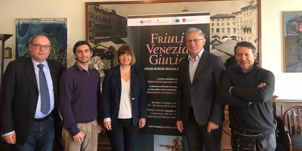 La bellezza e l'enogastronomia del Friuli Venezia Giulia sbarcano a Bruxelles