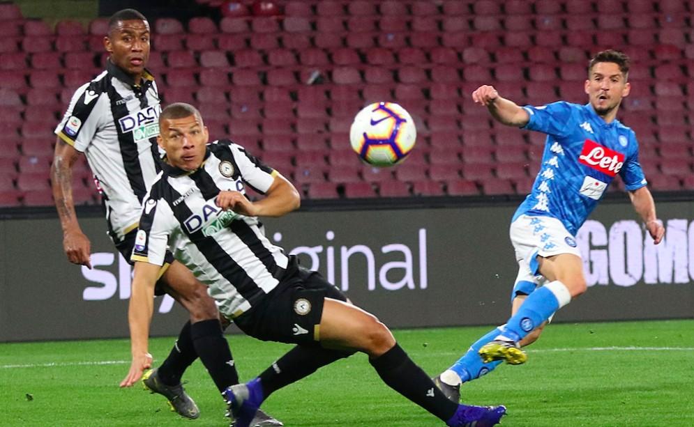 L'Udinese incassa 4 gol dal Napoli, ma qualche segno di vita c'è
