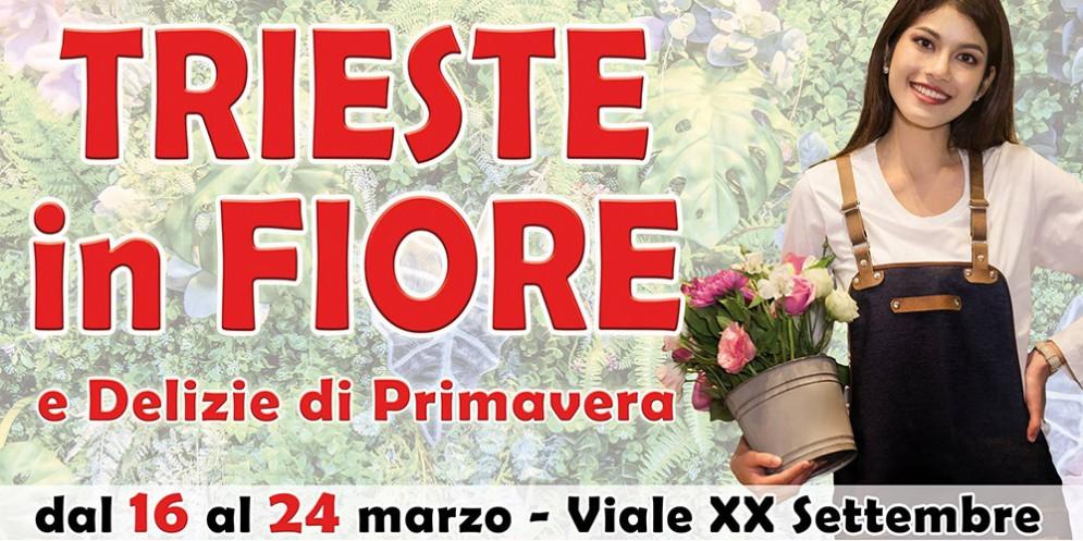 Arriva la primavera con 'Trieste in Fiore' giunta ormai alla sua 18esima edizione