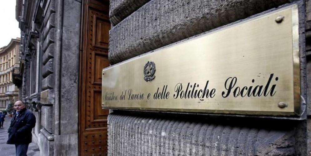 La sede del Ministero del Lavoro a Roma