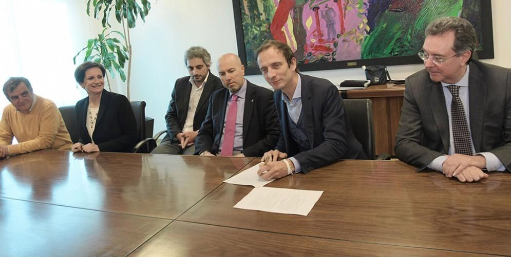 Tangenziale Udine Sud: Fedriga e Pizzimenti siglano l'accordo con i Comuni