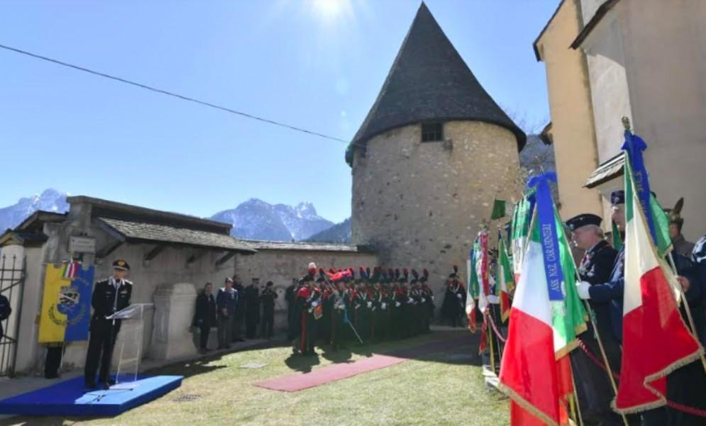 Il Comandante generale dei carabinieri ricorda i morti di Malga Bala